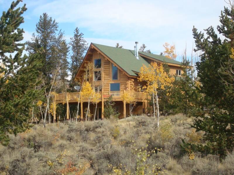 Colorado vacation log cabin rental for Vacation colorado cabins